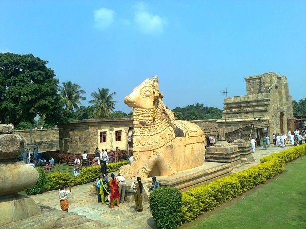 Gangai Konda Cholapuram temple's Nandi