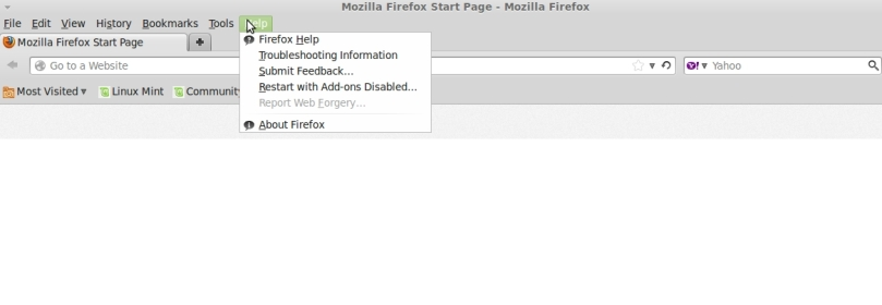 Mozilla Firefox update – Shrinath's Blog